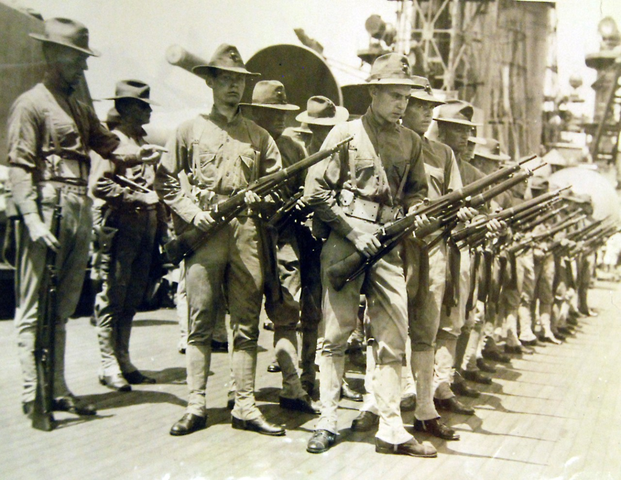 LC-Lot-9834-8: WWI: American Expeditionary Forces, U S  Marines