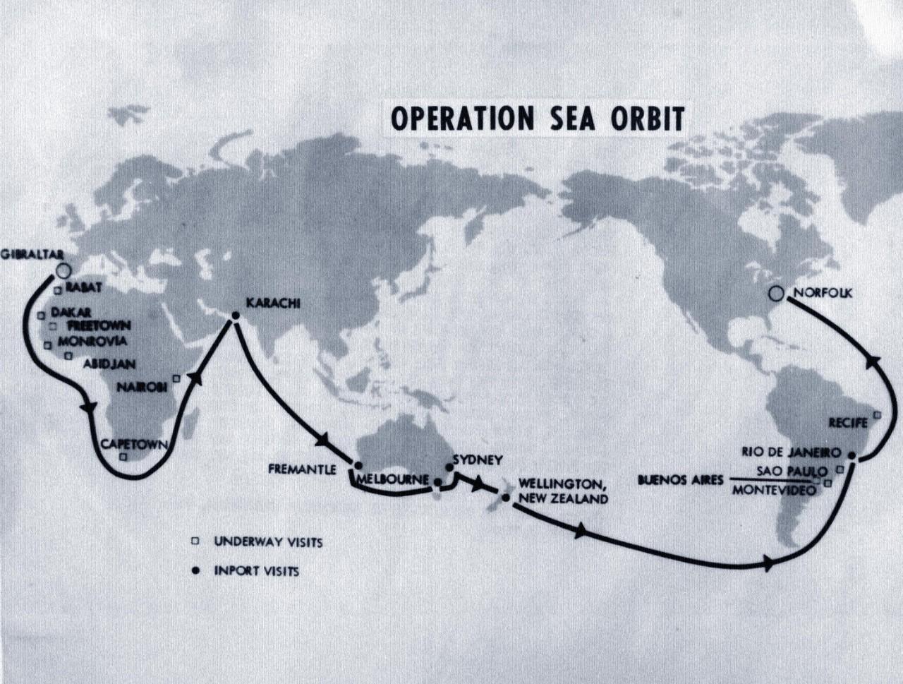 330-PSA-211-64 (USN 711474): Operation Sea Orbit, 1964