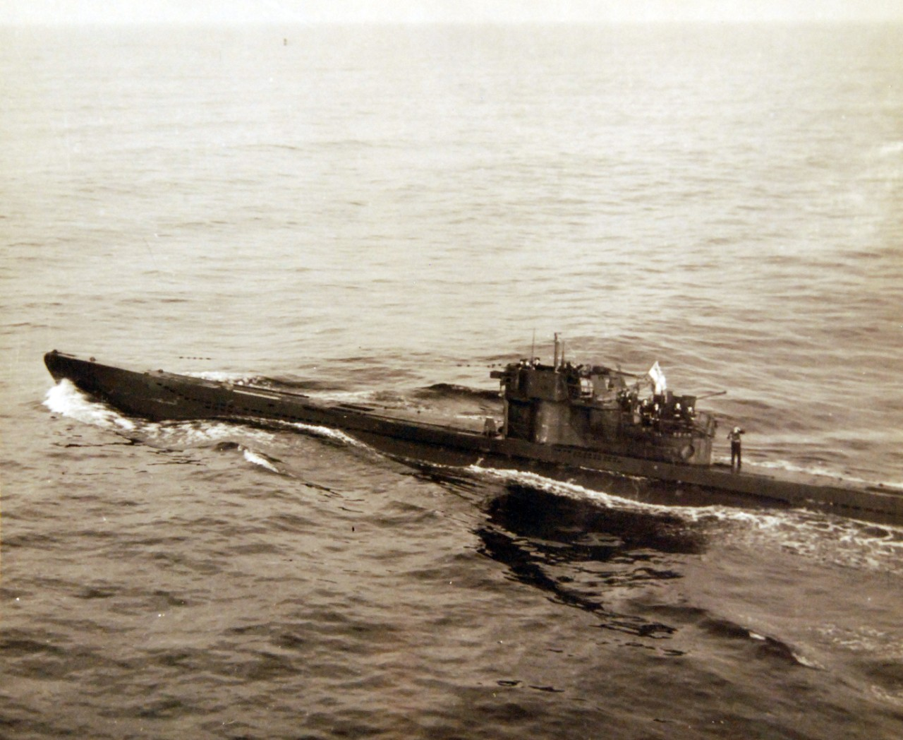 80-G-320287: Surrender of German U-boats, WWII