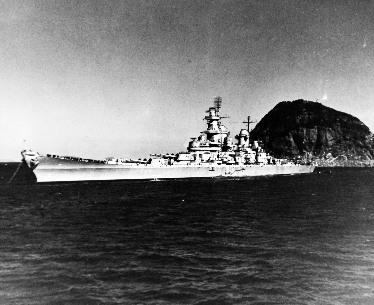 80-G-421096: USS Iowa (BB 61), 1945