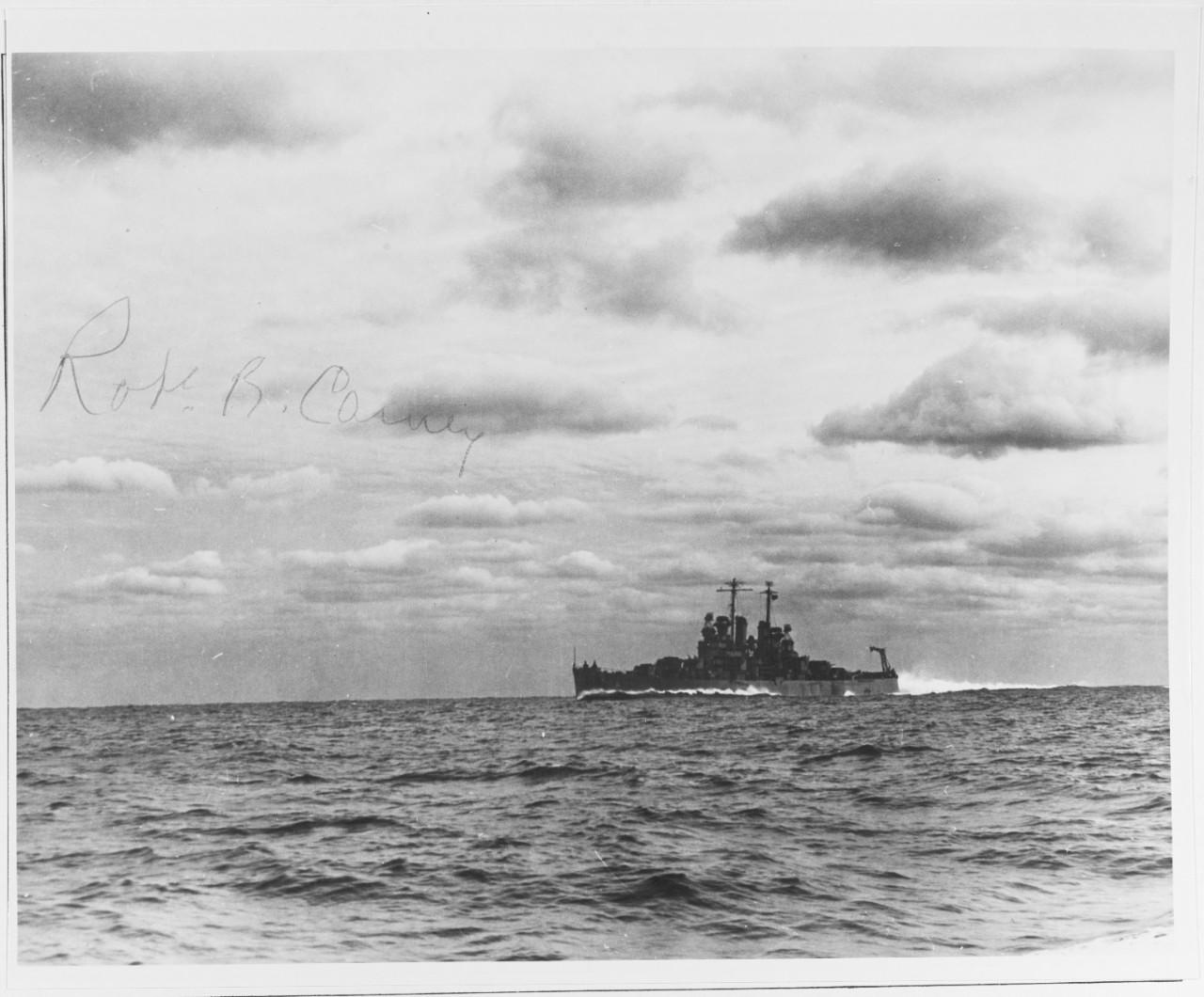 NH 124401 USS DENVER (CL-58