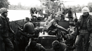 During their 1968-69 deployment, NMCB-58, Detail Hotel, deployed to the Mekong Delta Region of RVN near Moc Hoa and toward the Cambodian border in an attempt to save the lives of River Patrol Boat sailors