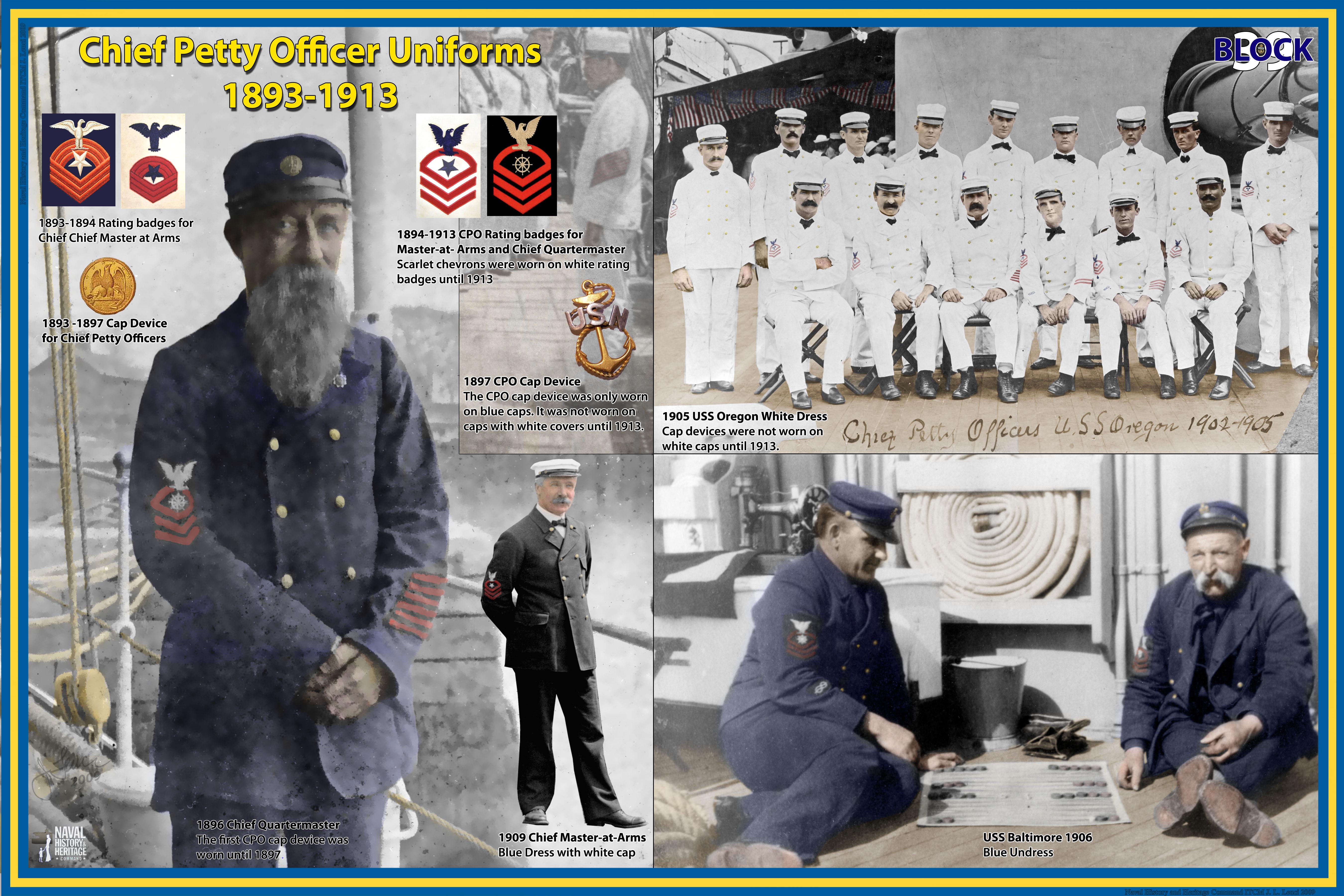 Uniforms CPO 1893-1913