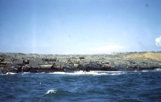 Scene on an Iwo Jima landing beach, shortly after the , February 1945 invasion. Check out the BLOG,