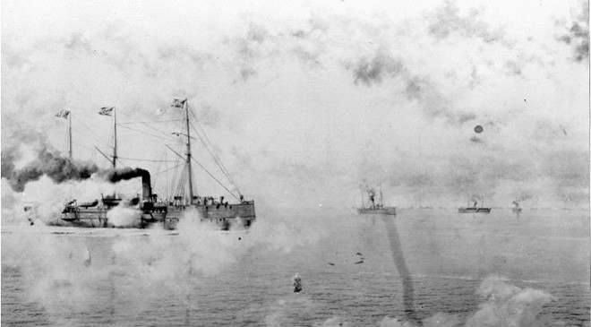 NHHC presents a new documentary history on the Navy in the Spanish-American War. See Destruction of the Maine, Battle of Manila Bay, and more!
