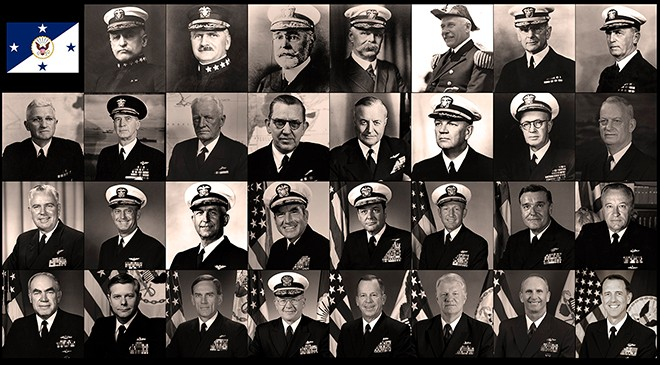 We've hailed a new Chief of Naval Operations! Learn more about the CNOs that came before and the history of the office!