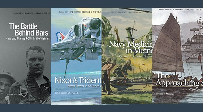 Those wishing to know more about their Navy's history and heritage can now download several books on mobile devices.