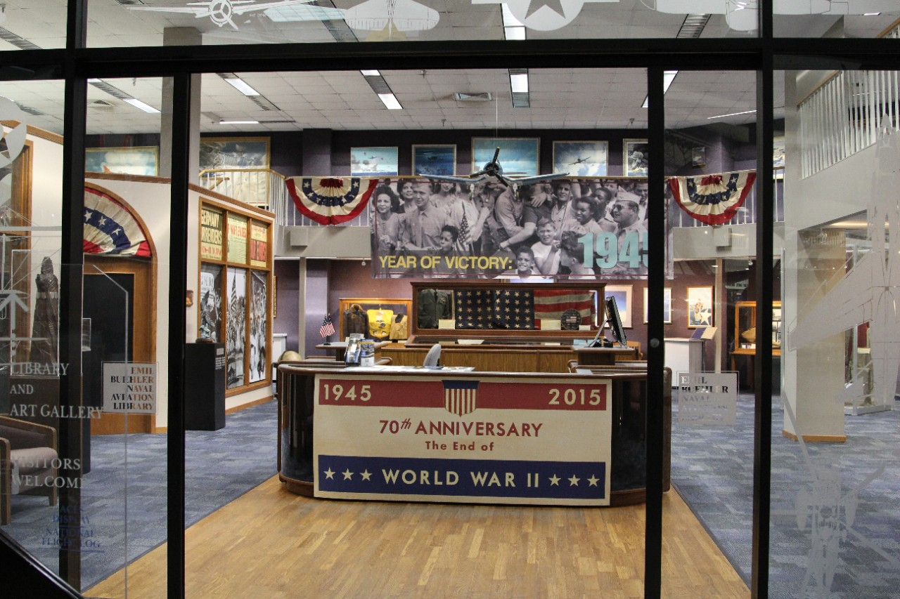 New Exhibit at National Naval Aviation Museum Commemorates 70th Anniversary of the End of WWII...