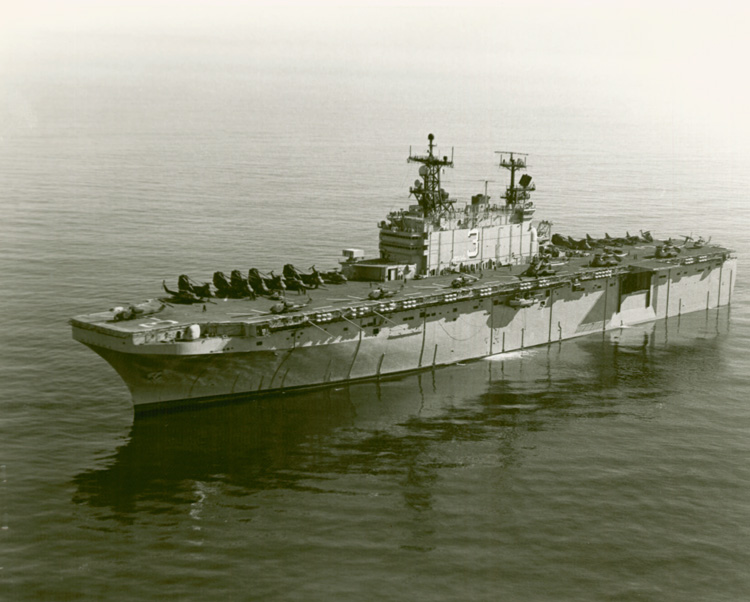 USS BELLEAU WOOD LHA-3 USN Navy Naval Ship Photo Print