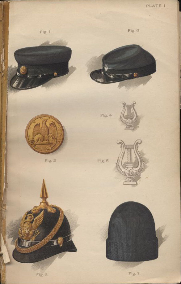 ac45e87b9b6 Regulations Governing the Uniform of Commissioned Officers 1897