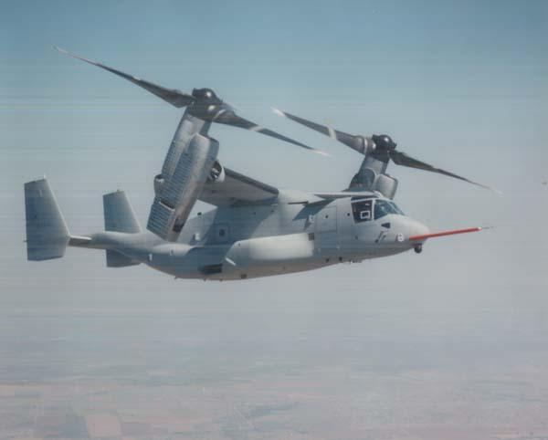 V 22 Osprey Tilt Rotor Aircraft