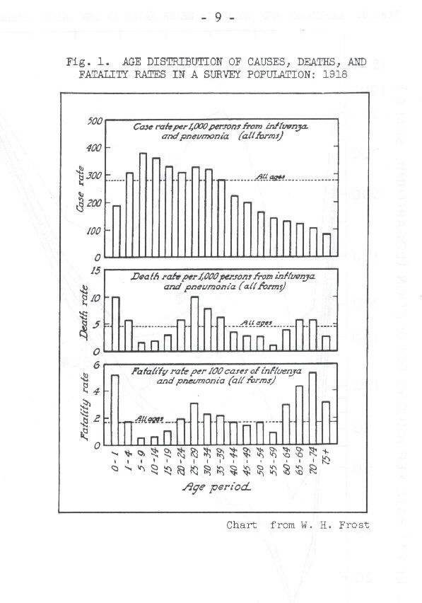 the pandemic of influenza in 1918 1919