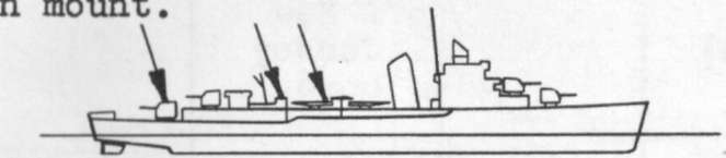 Diagram of SIMS (DD409) depicting damaged areas