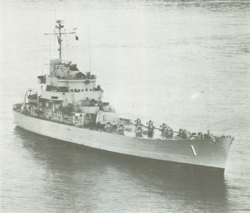 USS HOPEWELL DD 681 USN Navy Ship Print US Naval Destroyer