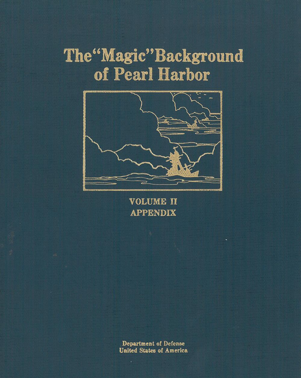 Magic Background of Pearl Harbor Vol. 2 Appendix on