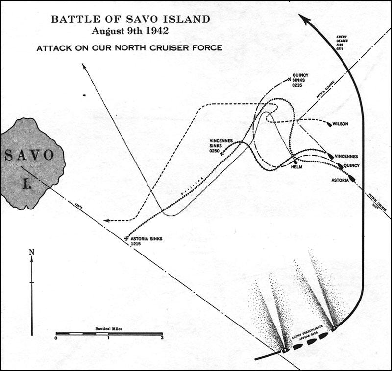 Solomon Islands Campaign Ii Savo Island Iii Eastern Solomons