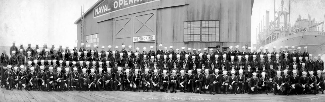 Orion Officers and Crew - 1925