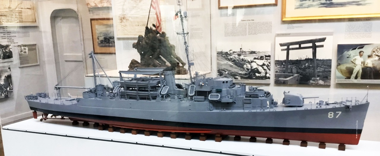 NMUSN:	In Harm's Way:  U.S. Navy and WWII:  Pacific:   USS Crosley (APD-87)