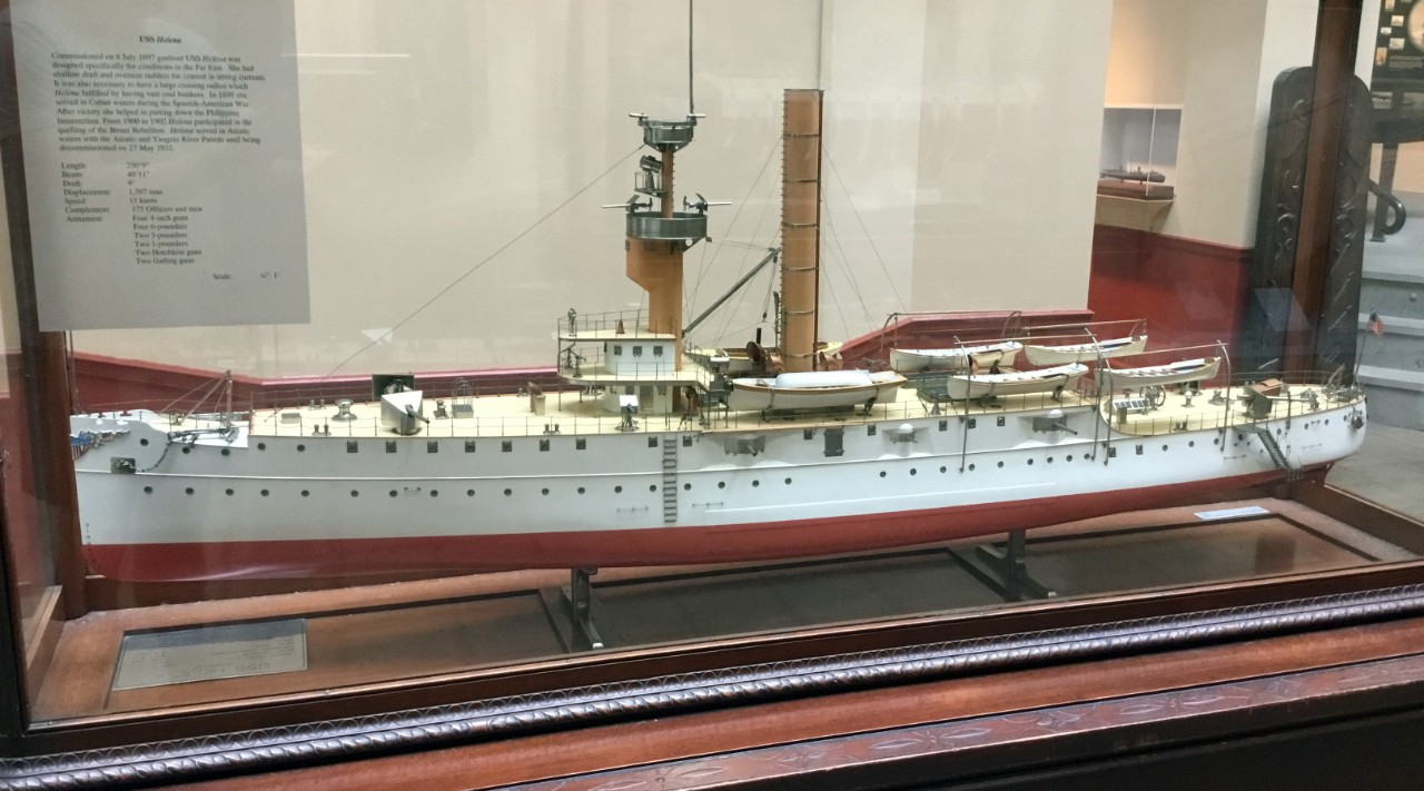 USS Helena (Patrol Gunboat #9) model