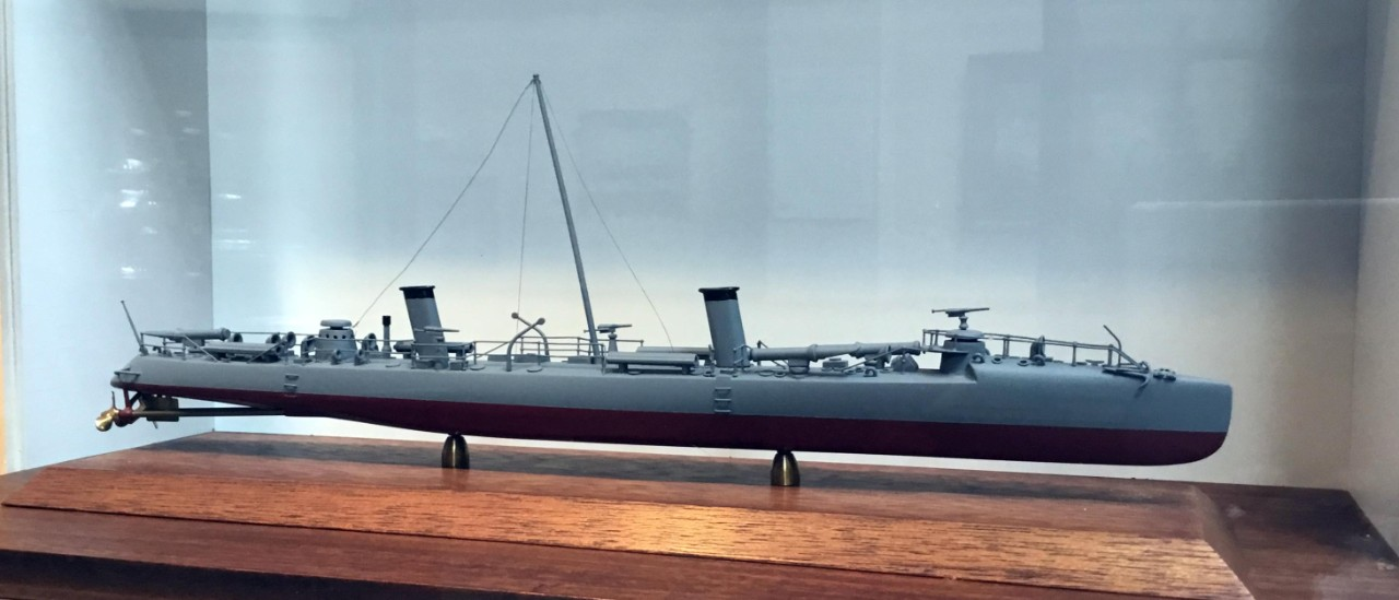 NMUSN:  Steel Navy:  USS Winslow (Torpedo Boat #5)