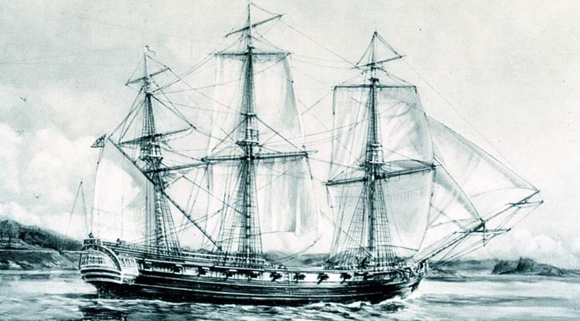 NMUSN:  Continental ships:  frigate Raleigh