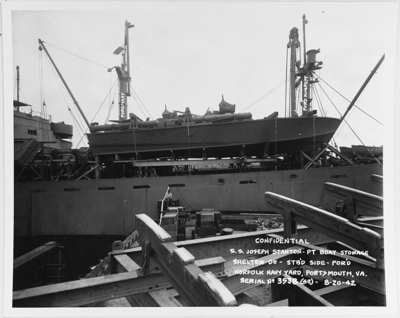 USS PT-109, 1942-43