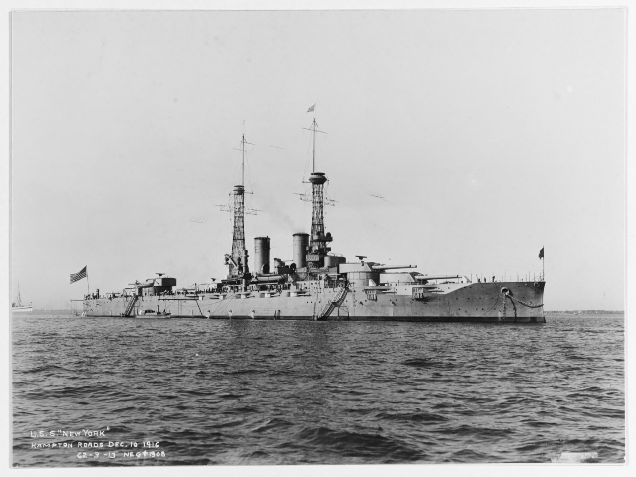 Photo #: NH 45138  USS New York (BB-34)
