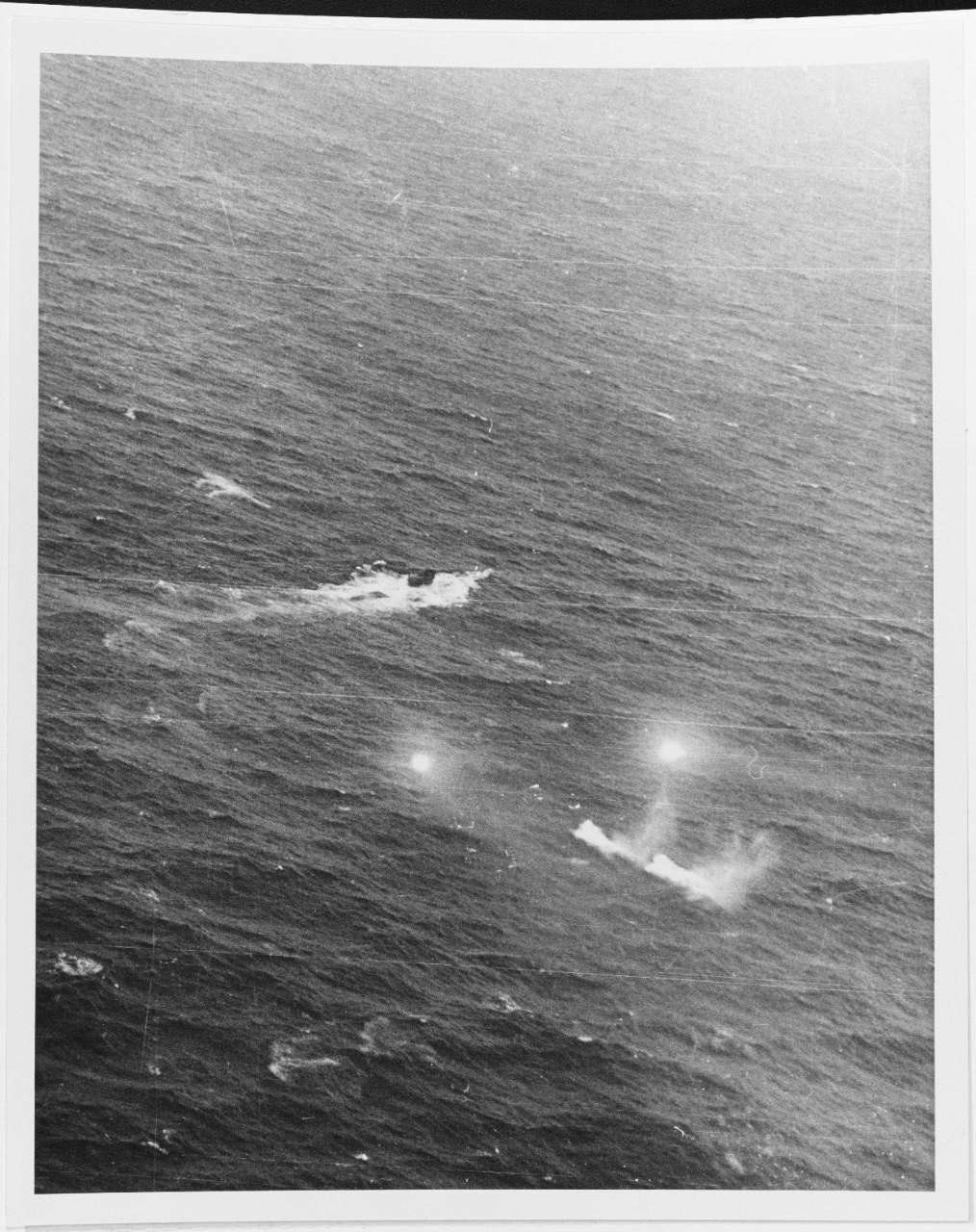 German submarine U-758