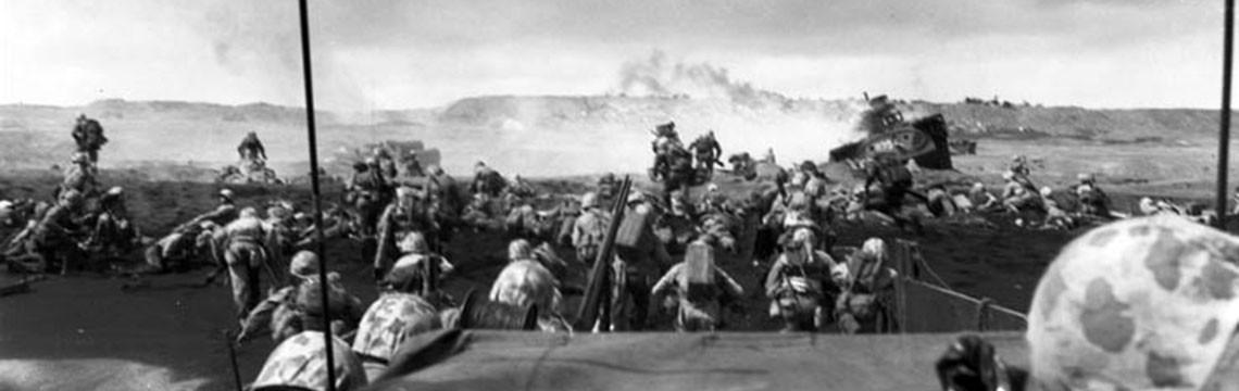 Iwo Jima: Landing the U.S. Marines, February 19, 1945  Usmc
