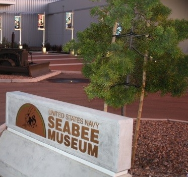 Seabee Museum Entrance
