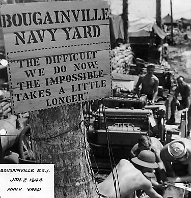 Welcome to the online photograph collection of the US Navy Seabee Museum.