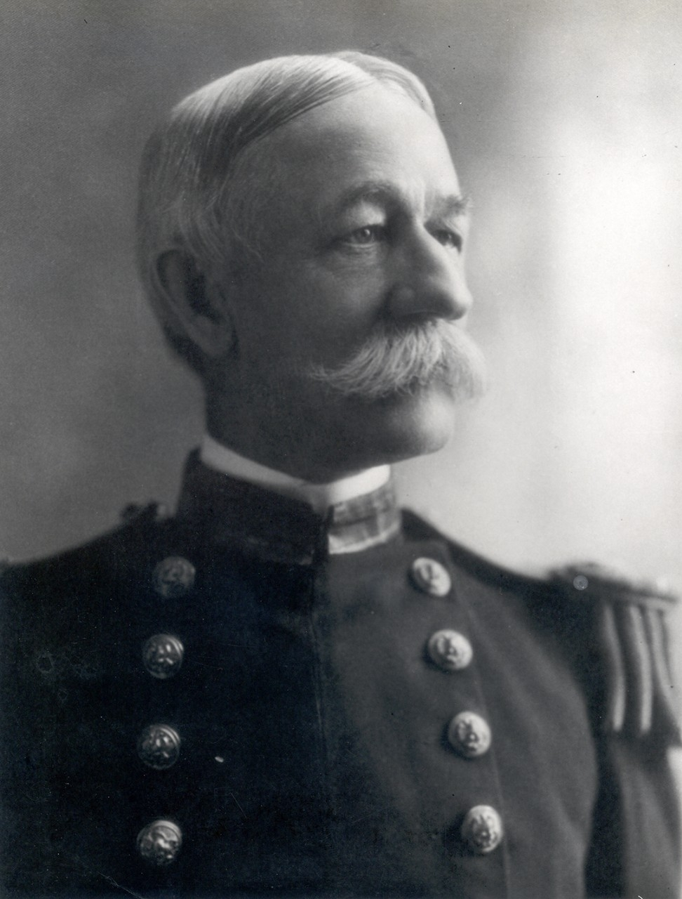 On April 7, 1898, President William McKinley broke precedence and appointed Mordecai Endicott to become the first member of the Civil Engineer Corps to command the Bureau of Yards and Docks. He was immediately elevated to the rank of Commodore and later Rear Admiral. Endicott became the first Chief to hold the rank of Rear Admiral, one which has been held by all Chiefs of the Bureau ever since. He was reappointed Chief in 1902 and again in 1906.