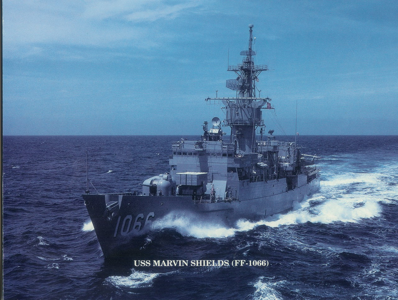 <p>USS Marvin Shields - FF1066</p>