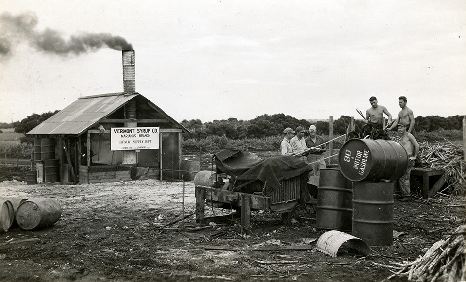 Vermont Syrup Mill, Saipan, 16 December 1944