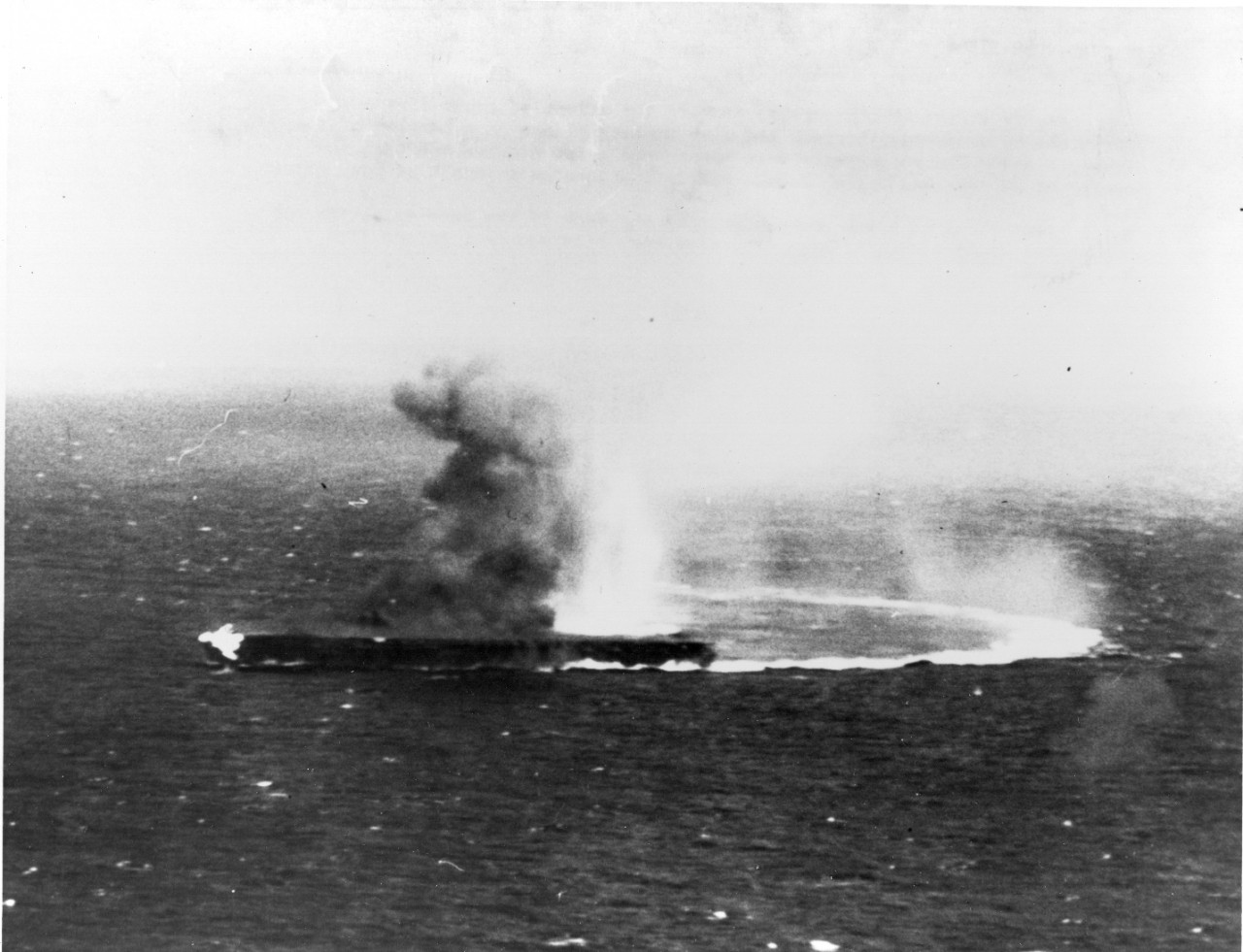 Photo #: 80-G-17031  Battle of Coral Sea, May 1942