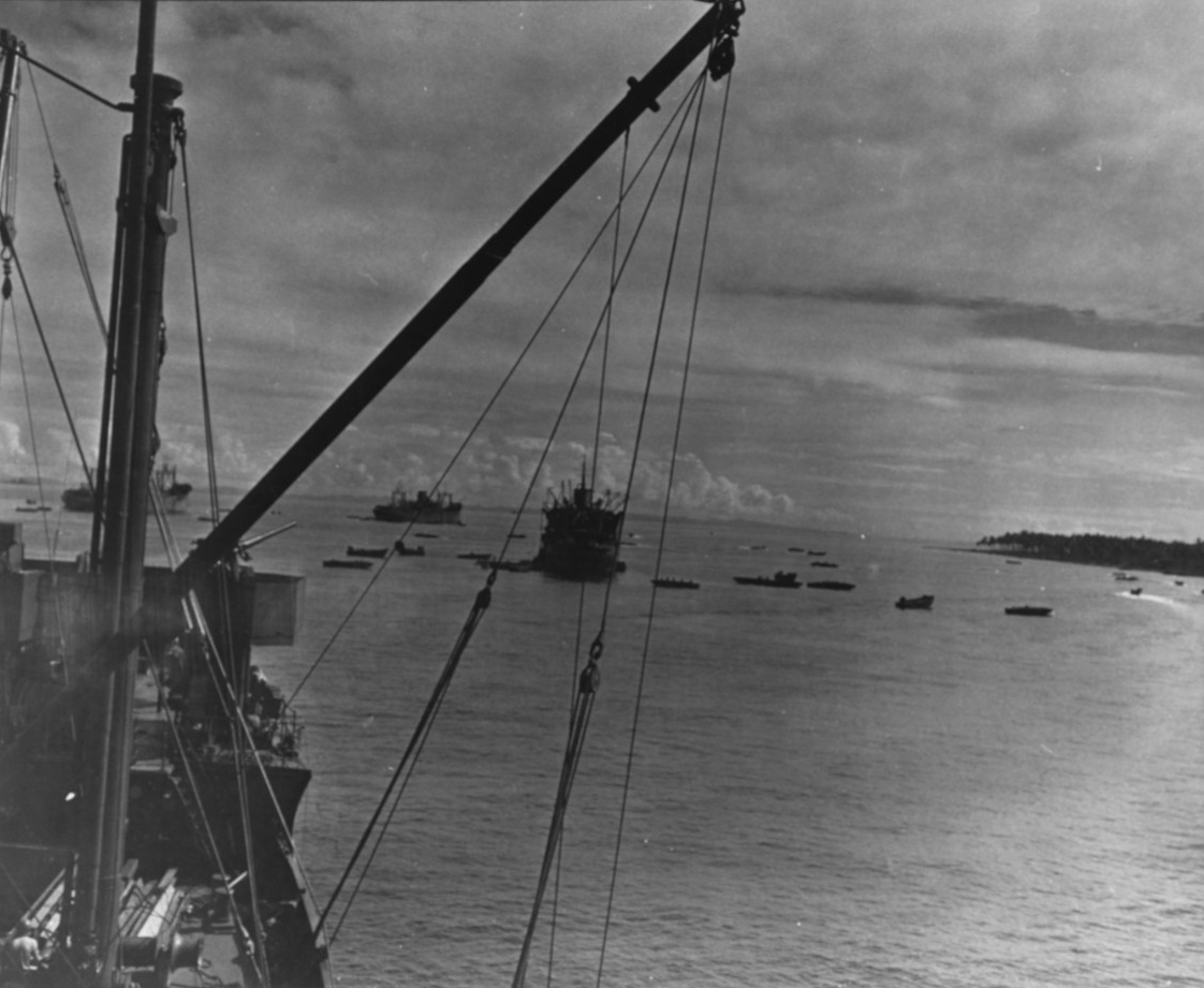 Photo #: 80-G-374870  Guadalcanal-Tulagi Operation, 7-9 August 1942