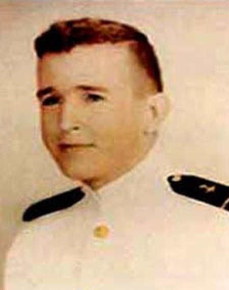 LT William C. Fitzgerald, Vietnam War posthumous Navy Cross recipient, as a midshipman.