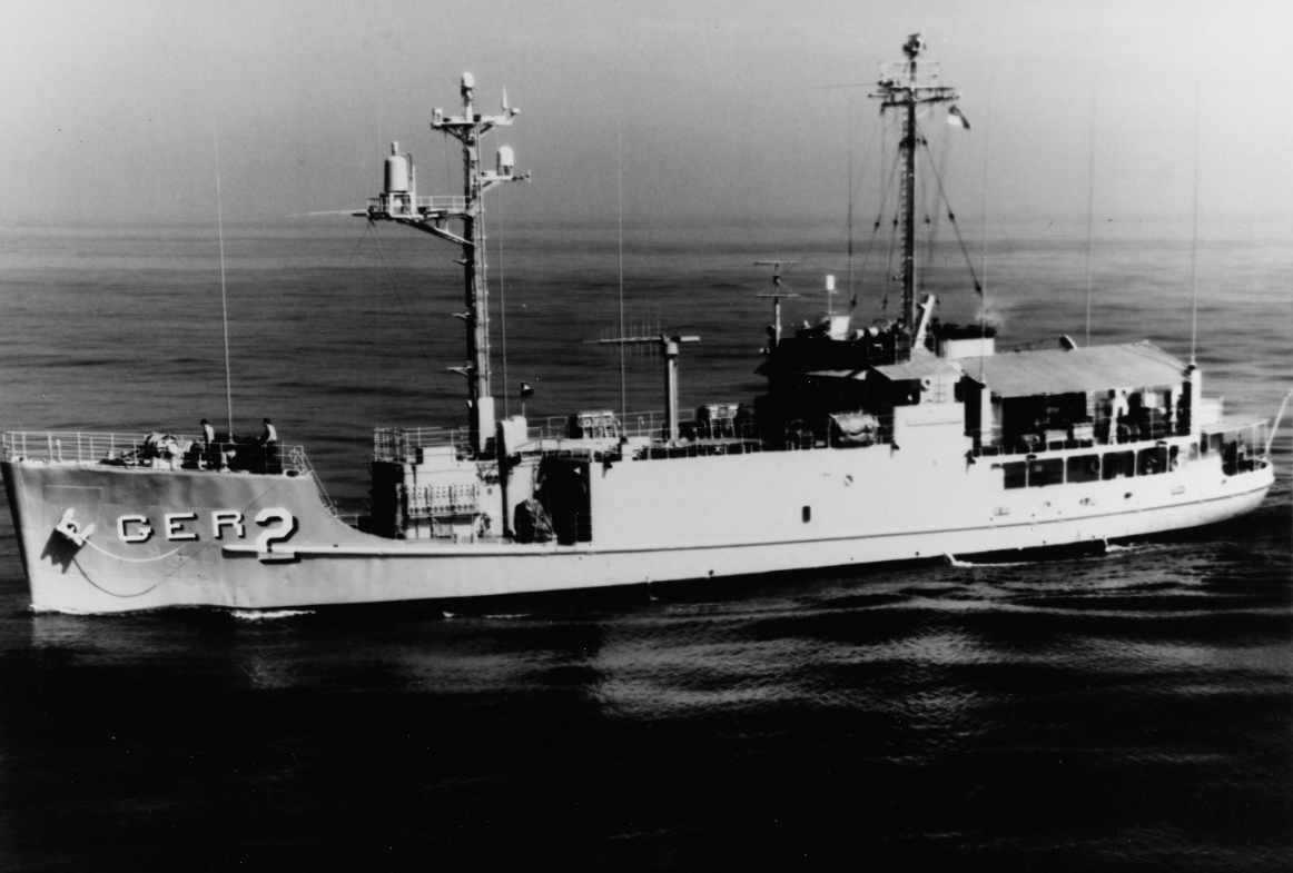 Photo #: USN 1129208  USS Pueblo (AGER-2)
