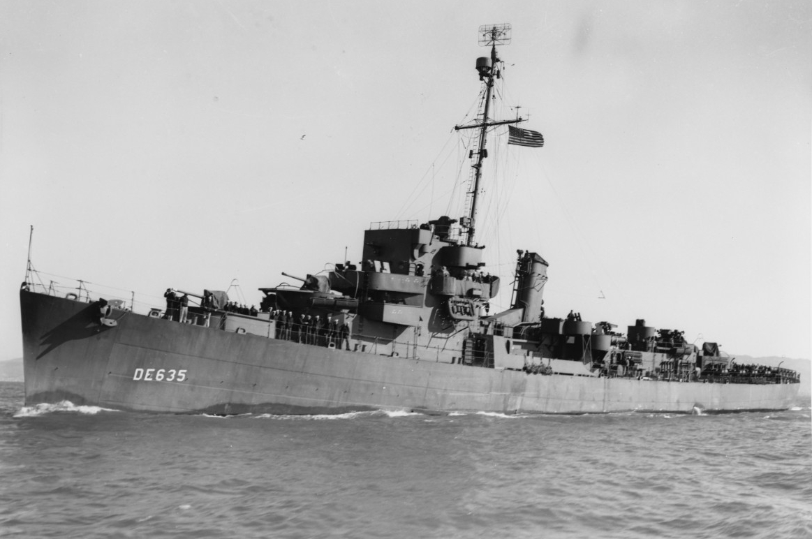 Photo #: 19-N-60939  USS England (DE-635)