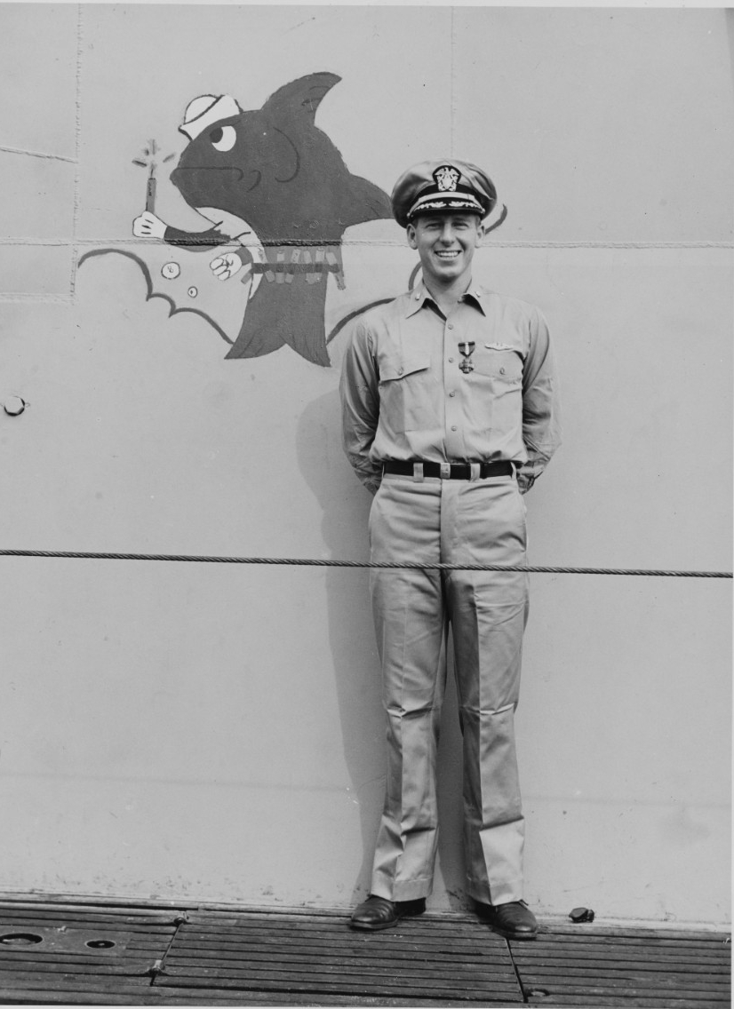 Photo #: NH 103534  Commander Eugene B. Fluckey, USN