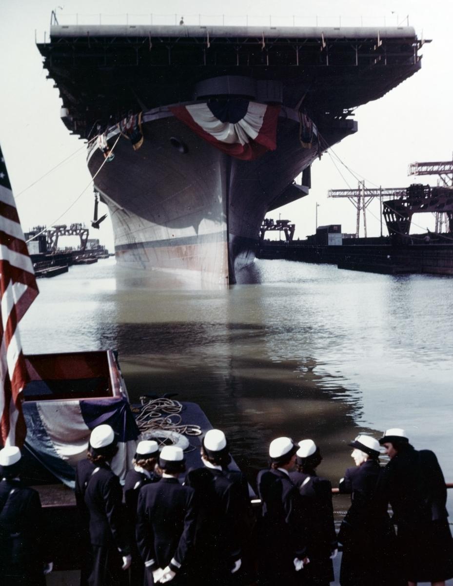 Photo #: 80-G-K-14015 USS Franklin (CV-13)