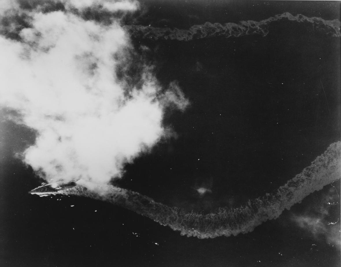 "Photo #: NH 62581  ""Ten-Go"" Operation, April 1945"