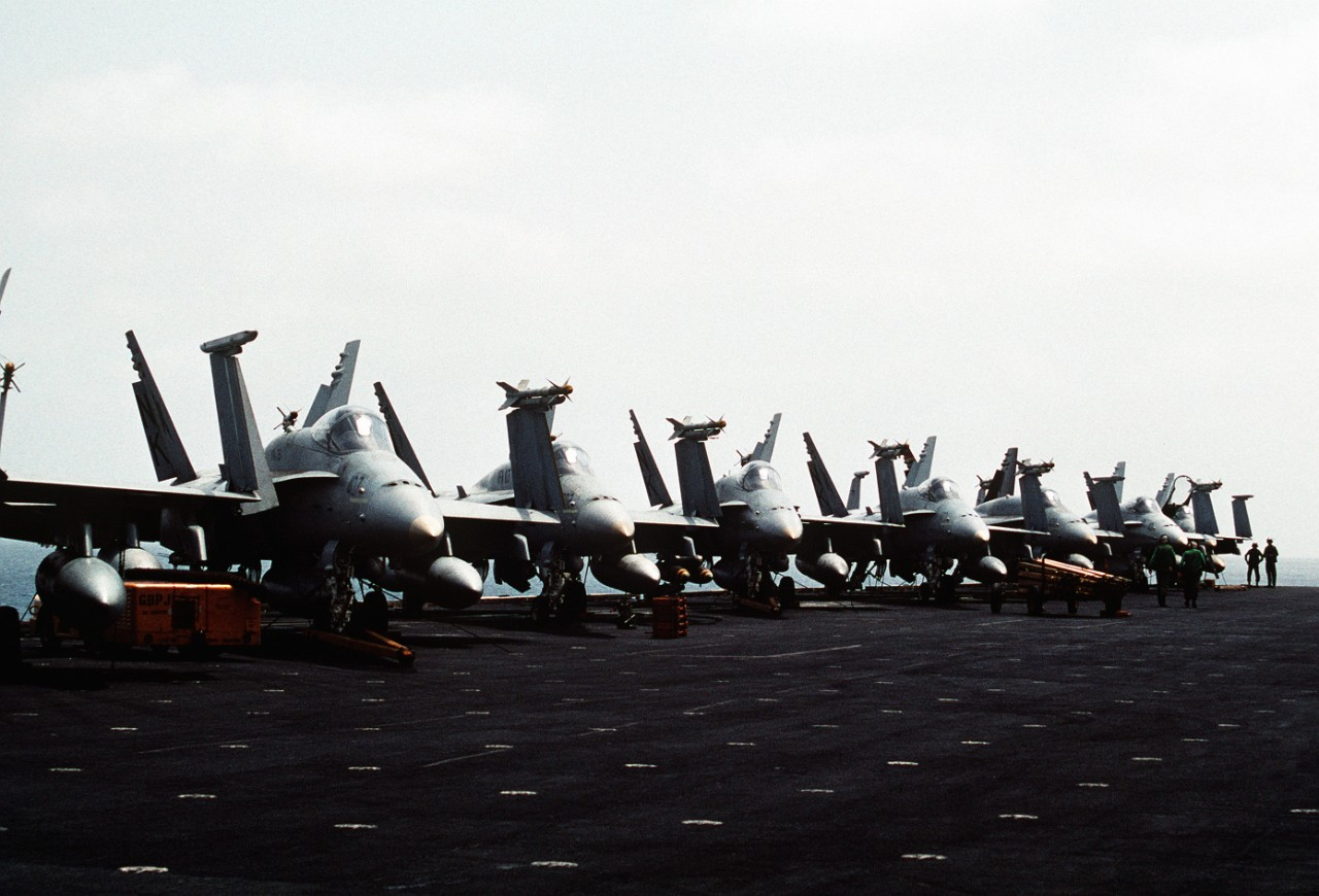 F/A-18C Hornet aircraft of Strike Fighter Squadron 113 (VFA-113)