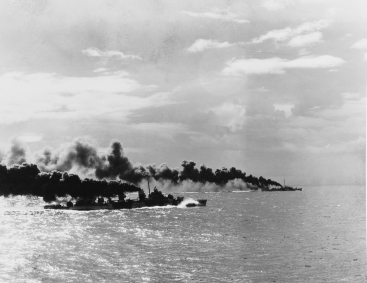 Battle of Leyte Gulf, October 1944.