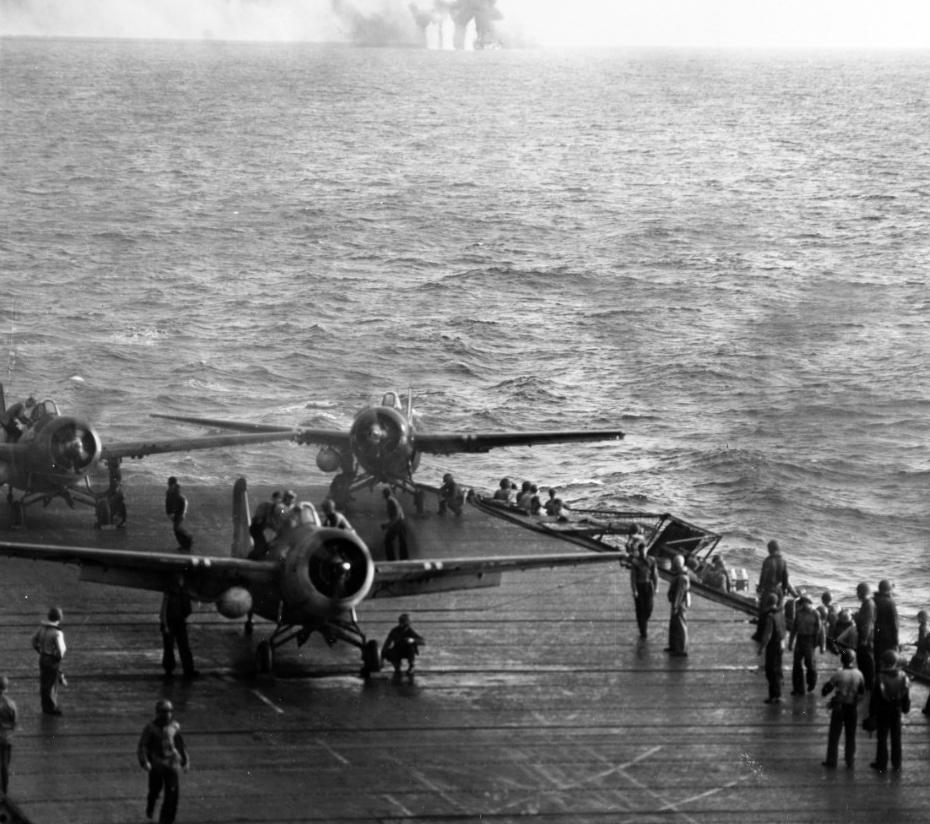 Photo #: 80-G-287497  Battle off Samar, 25 October 1944