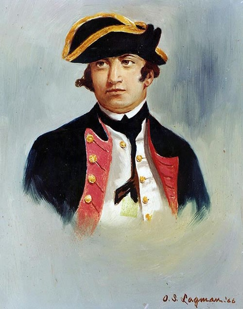 Commodore Esek Hopkins (1718-1802)
