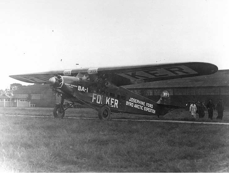 "Photo #:NH 44161  Fokker BA-1 Airplane ""Josephine Ford"""
