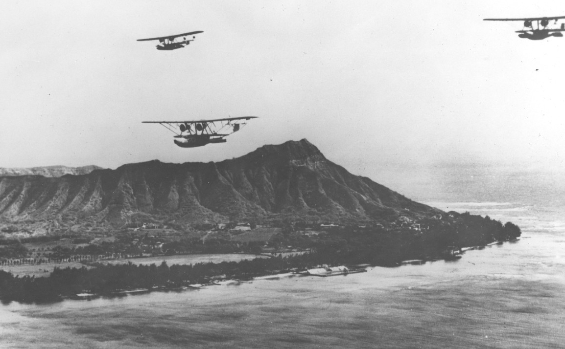 VP-10 Non-Stop Formation Flight 10-11 January 1934