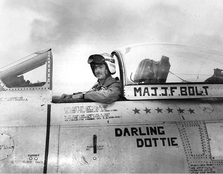 Photo #: USMC A348324  Major John F. Bolt, USMC