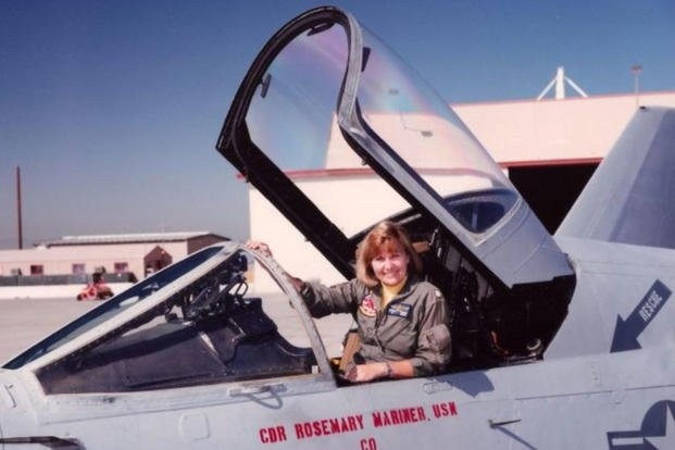 Rosemary Mariner in the 1990s. (U.S. Navy)